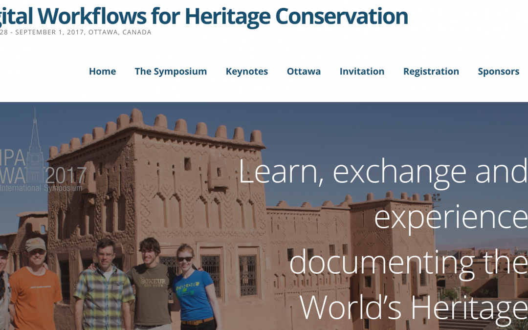 E-RIHS at the 26th Symposium on Digital Workflows for Heritage Conservation in Ottawa, Canada