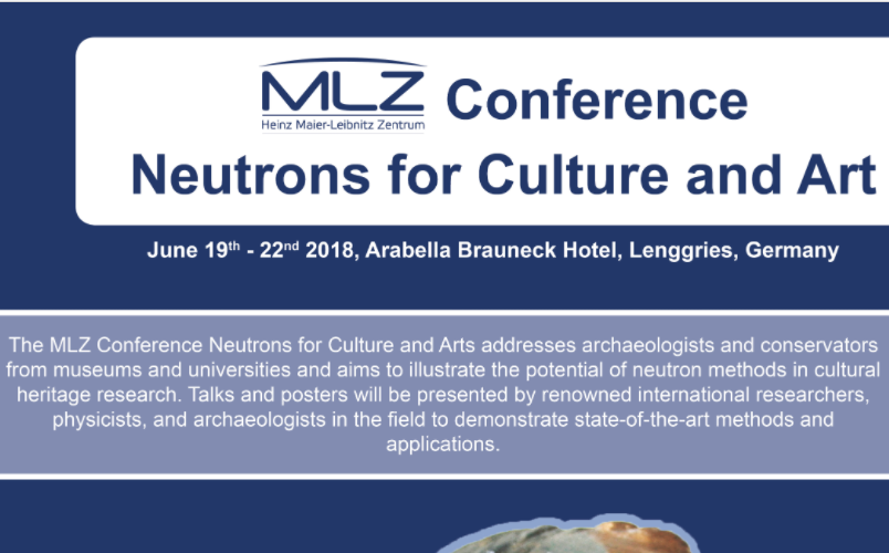 MLZ Conference – Neutrons for Culture and Arts