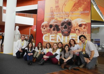 CENIEH at the 10th Biennal Fair in Valladolid