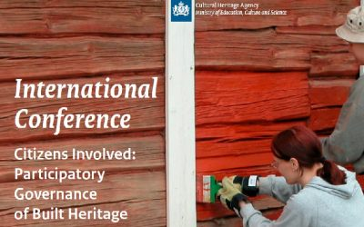 International Conference on Participatory Governance of Built Cultural Heritage – 3-4 October 2018 – Amersfoort, the Netherlands