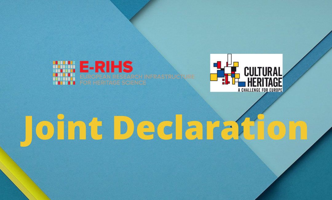 Joint Declaration with JPI-CH (2019)