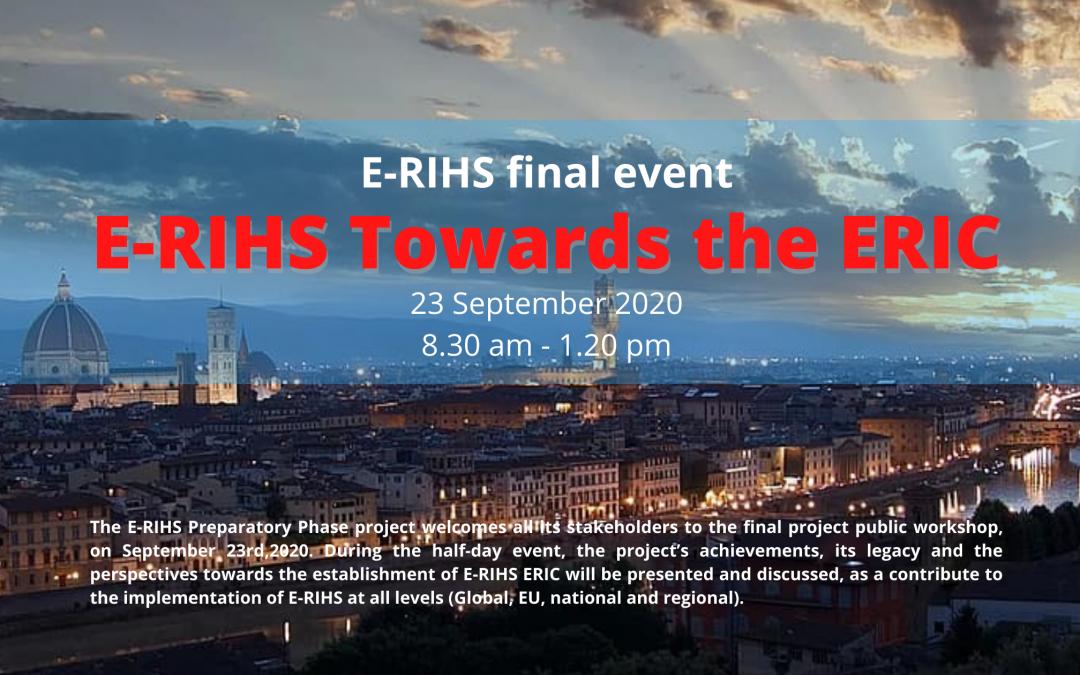 E-RIHS Towards the ERIC